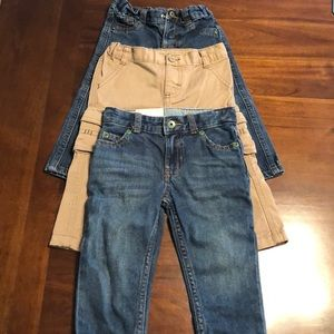 3 pair Boy's pants size 18 mos.